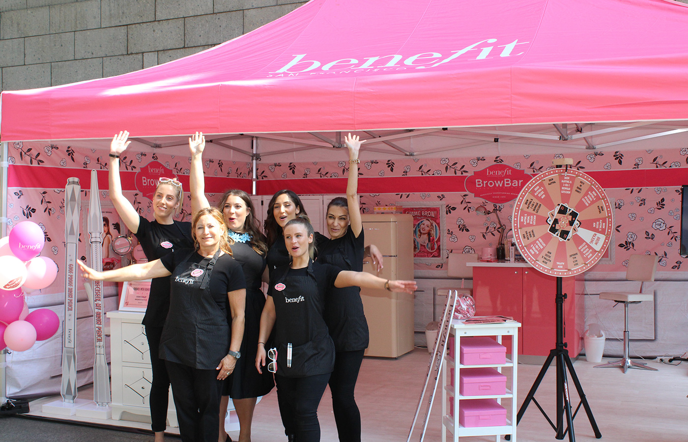 Benefit – Brow Bar Roadshow 2016