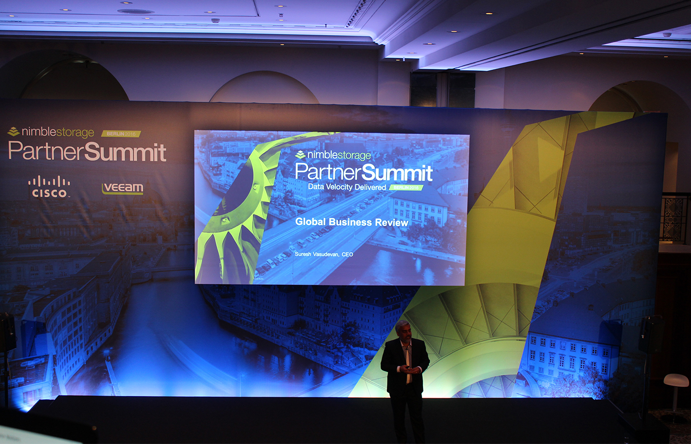 Nimble Storage – Partner Summit 2016
