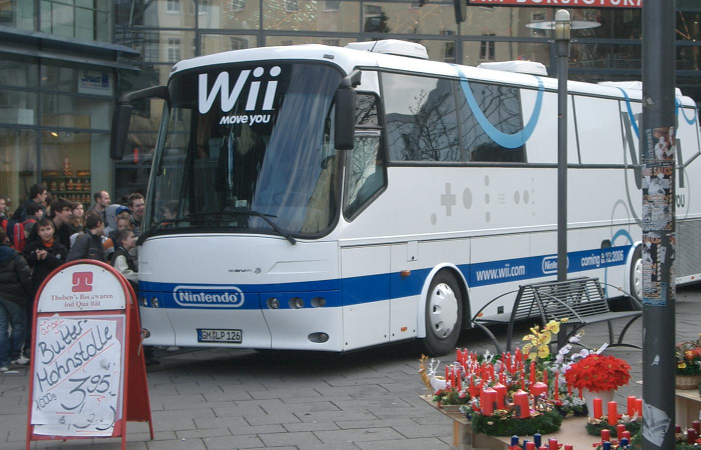 Nintendo – Wii Konsole Roadshow