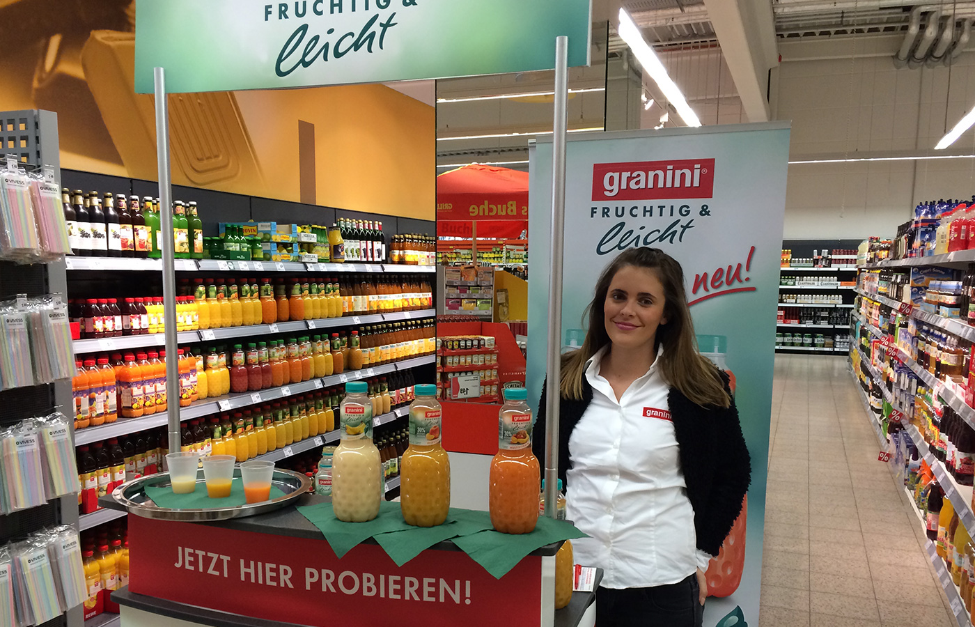 Eckes Granini – Produktlaunch