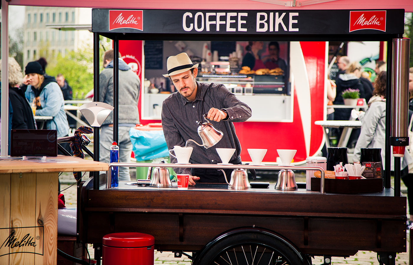 Melitta – Coffeebike Roadshow