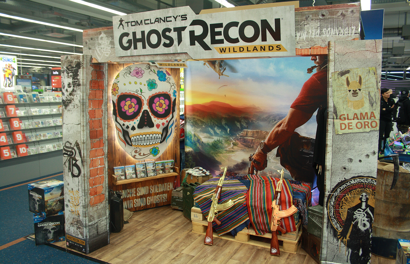 Ubisoft – Ghost Recon Wildlands 2017 In-Store Promotion