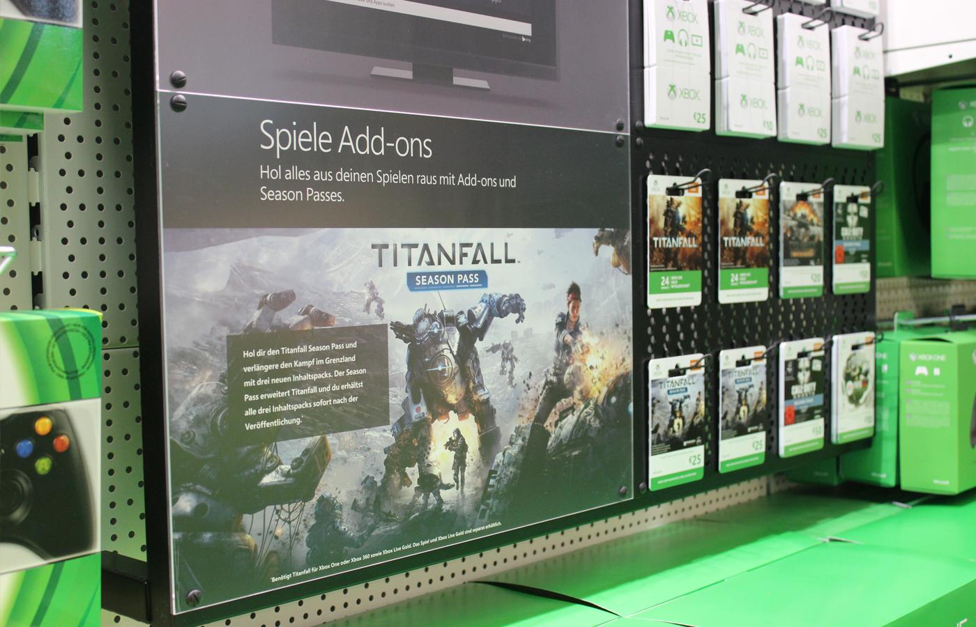 Microsoft – Xbox Regalbau und Category Management