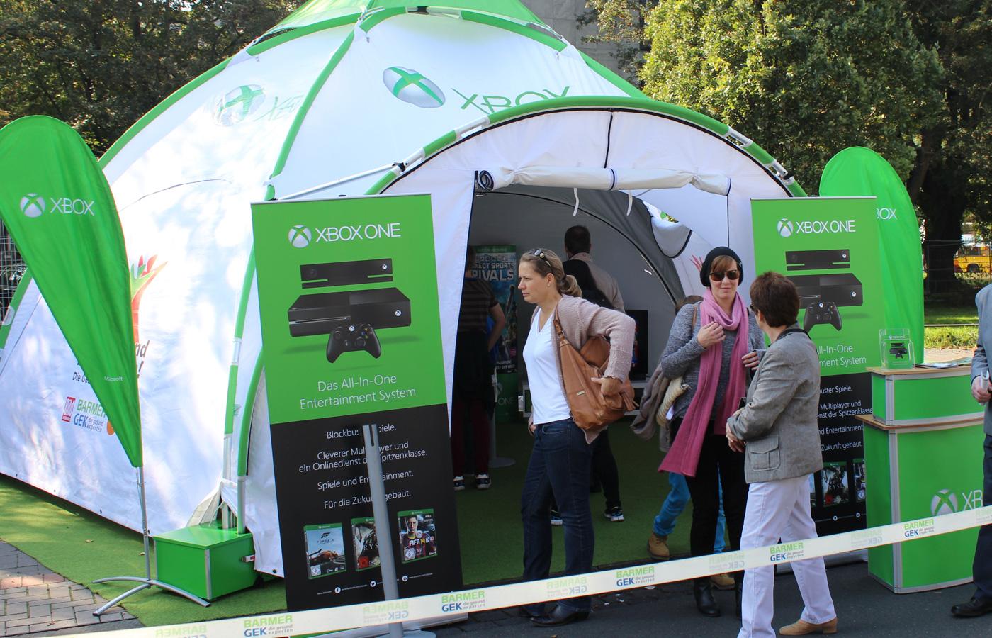 Microsoft- Xbox Barmer Roadshow