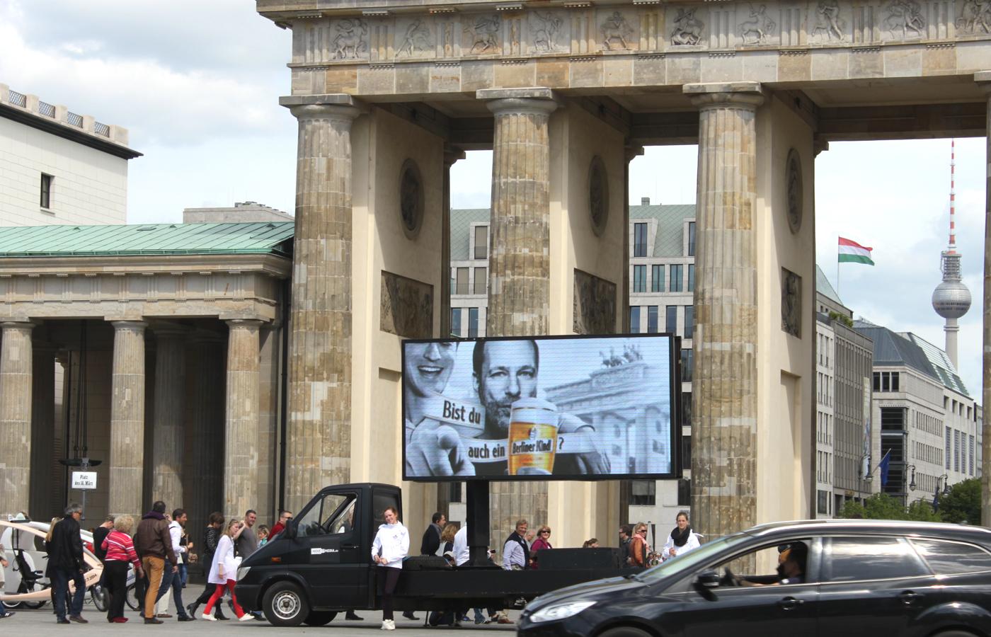 Berliner Kindl – Ich bin ein Berliner Kindl Promotion