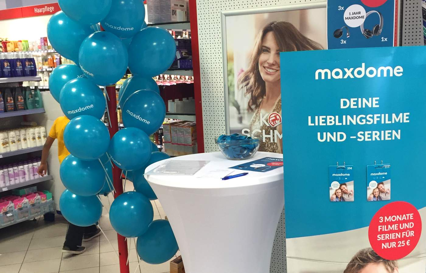 Maxdome – Promotion