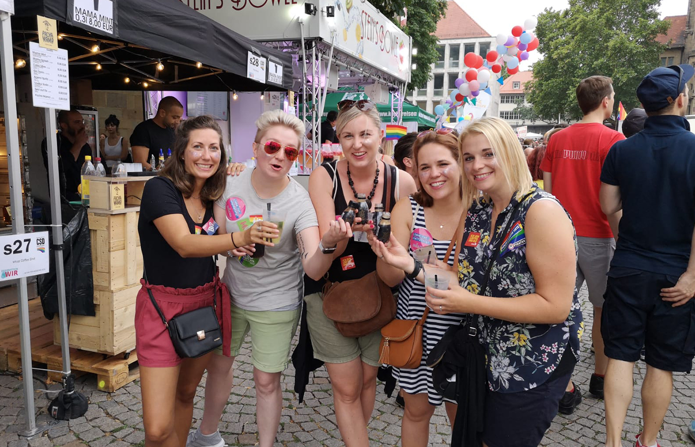 10X Innovation – Christopher Street Day 2018 Stuttgart
