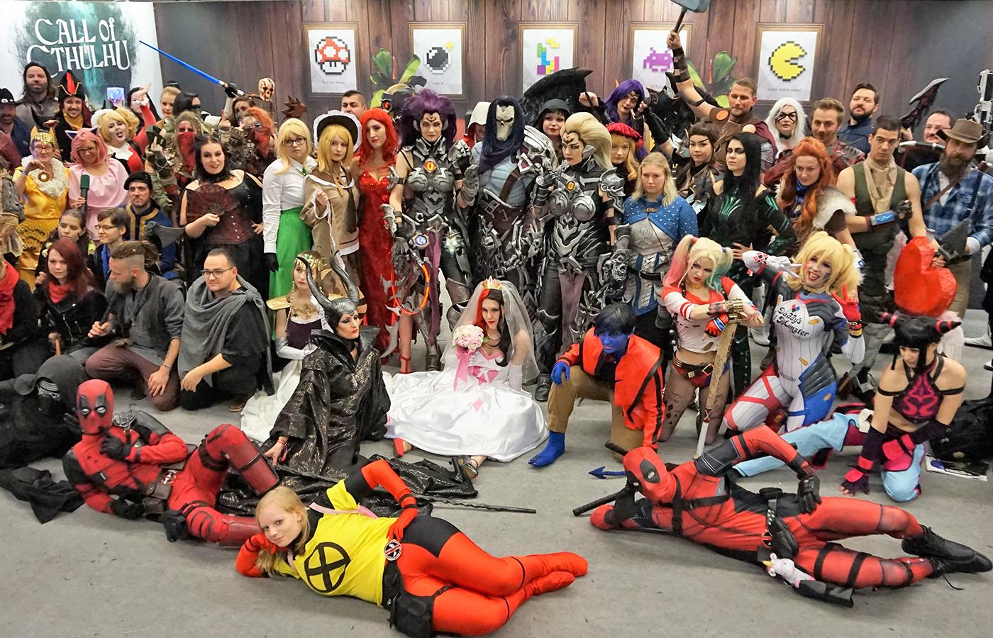Gamestop – 2018 Comic Con Munich