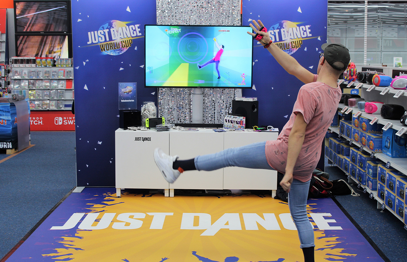 Ubisoft – Just Dance World Cup POS Tour 2018