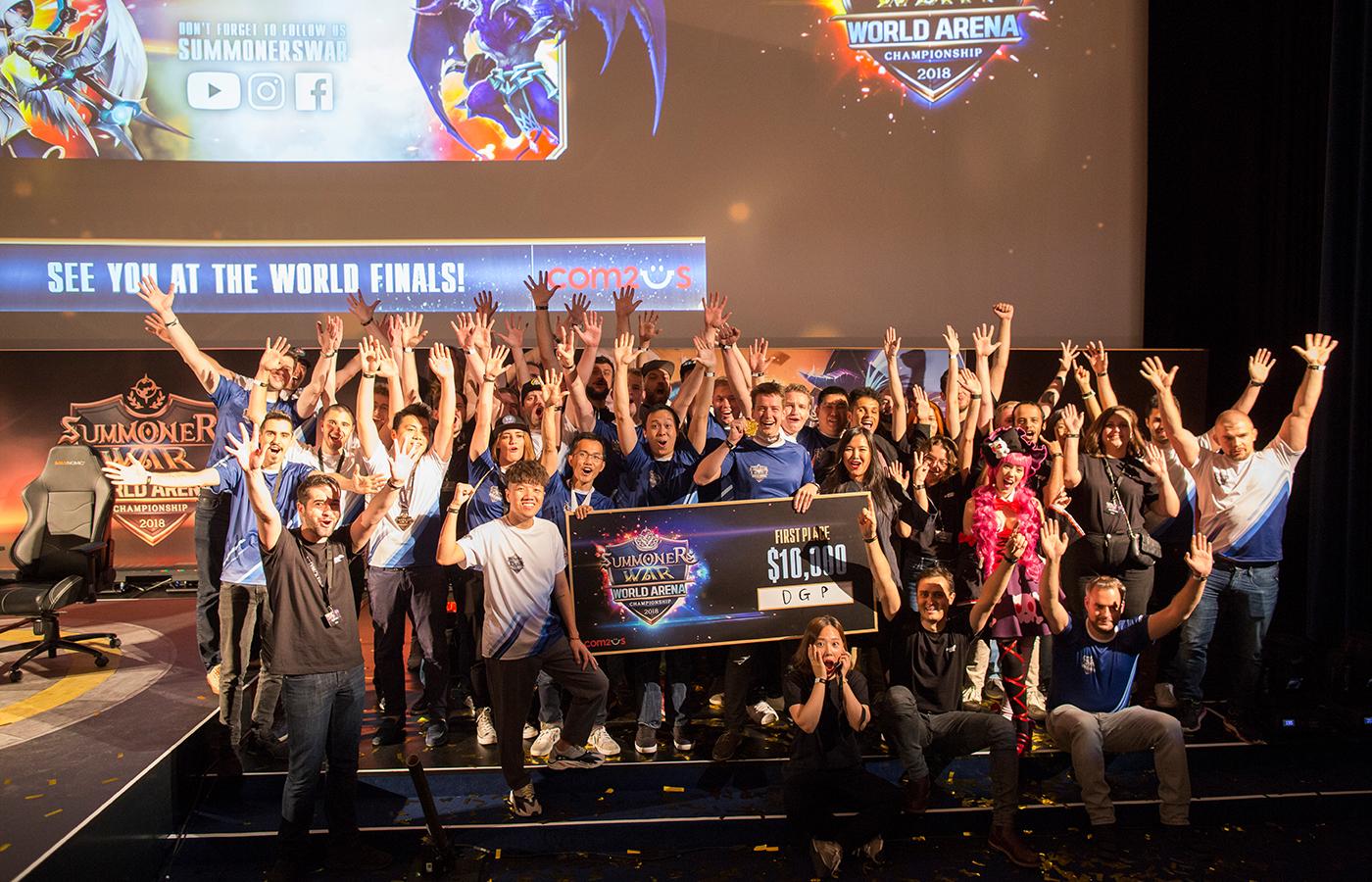 Gamevil Com2uS – Summoners War Championship Europe Cup