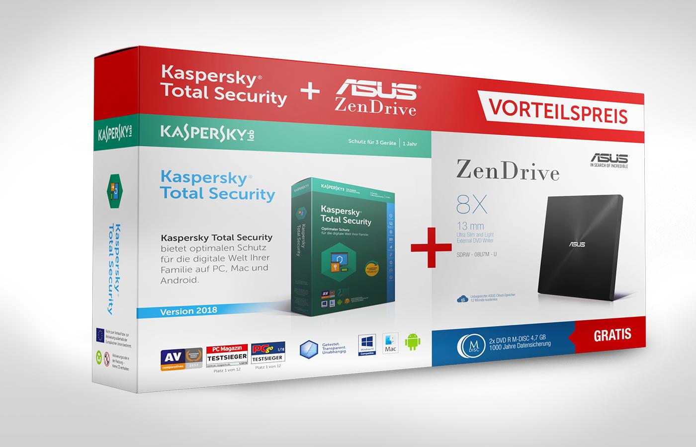 ASUS – Kaspersky Bundle