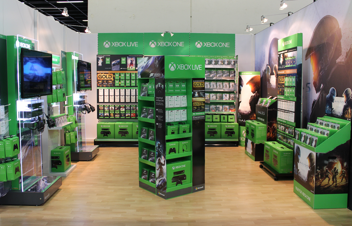 Microsoft – Xbox POS