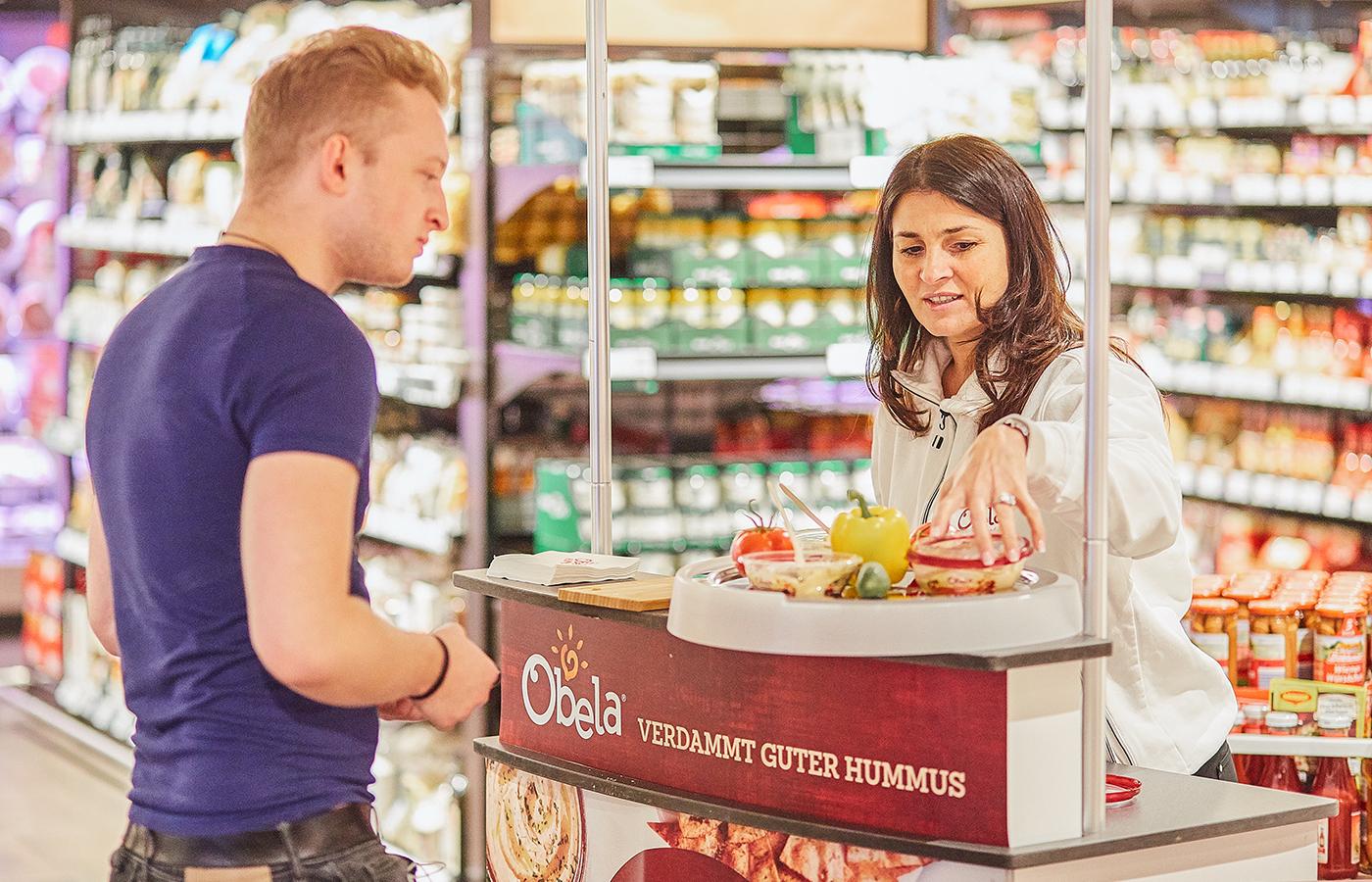 Feinkost Dittmann – Obela Hummus Verkostung – Berlin & München, August bis November 2019