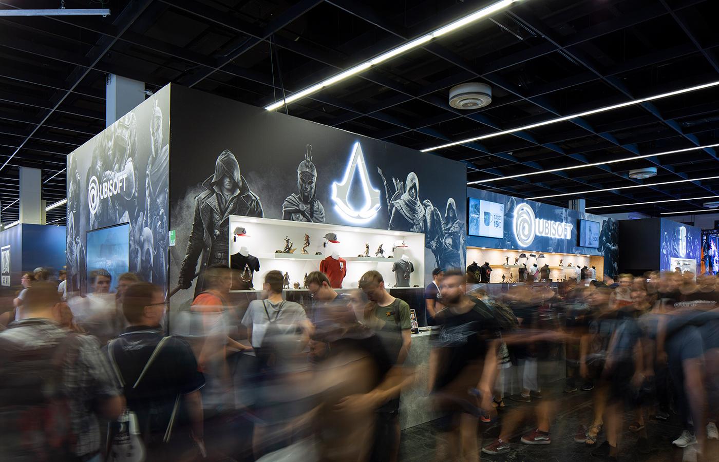 Ubisoft Merchandise Stand @ gamescom – Köln 2019