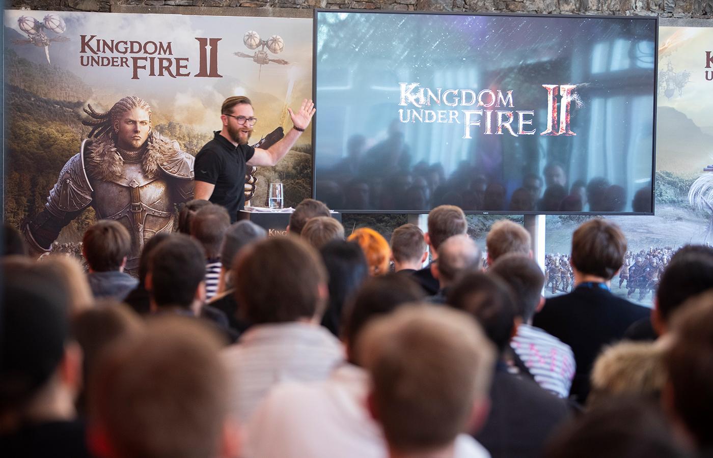 gameforge – Kingdom under Fire 2 Media Launch Event – Burg Reichenstein 2019